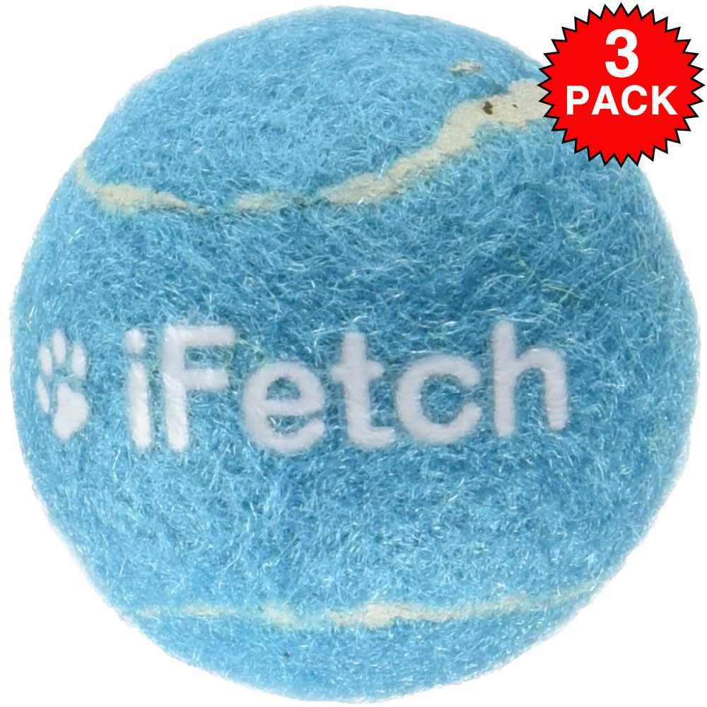 3-PACK iFetch Tennis Balls - Small