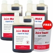 3-PACK Joint MAX Liquid for Dogs (96 fl oz) + FREE Joint Treats