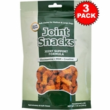 3-PACK Joint Snacks for Medium & Large Dogs Duck Flavor (180 Soft Chews)