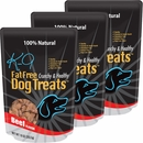 3-PACK - K-9 Fat Free Dog Treats - Beef Flavor (30 oz)