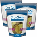 3-PACK Ora-Clens Oral Hygiene Chews Large (90 Chews)