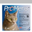 3 Pack ProMeris for  Cats under 9 lbs