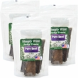 3-PACK Simply Wild Jerky Treats - Beef Bars (12 oz)