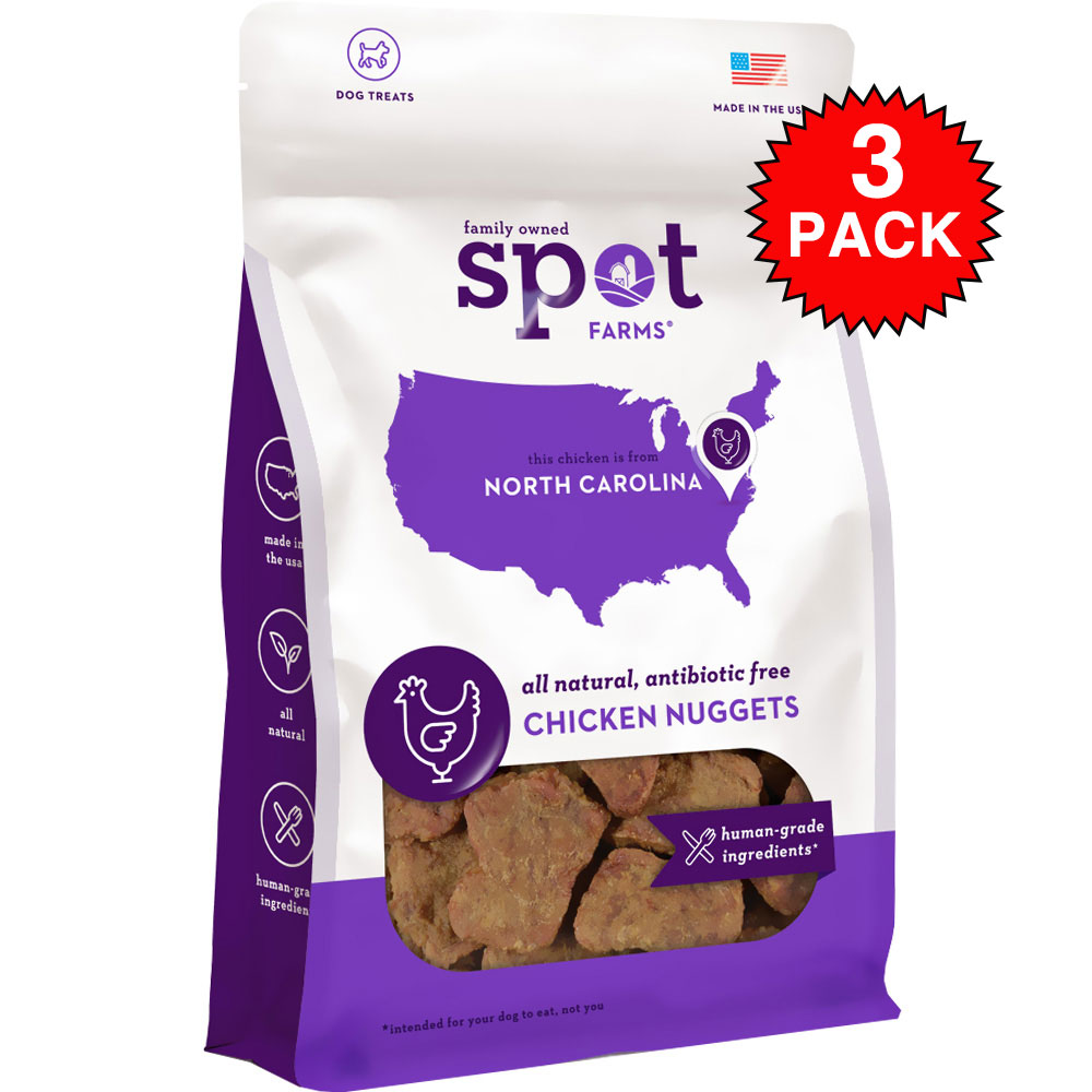 3-PACK Spot Farms&reg: Chicken Nuggets (6 oz)