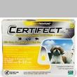 6 Month CERTIFECT GOLD for Dogs 5-22 lbs