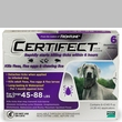 6 Month CERTIFECT PURPLE for Dogs 45-88 lbs