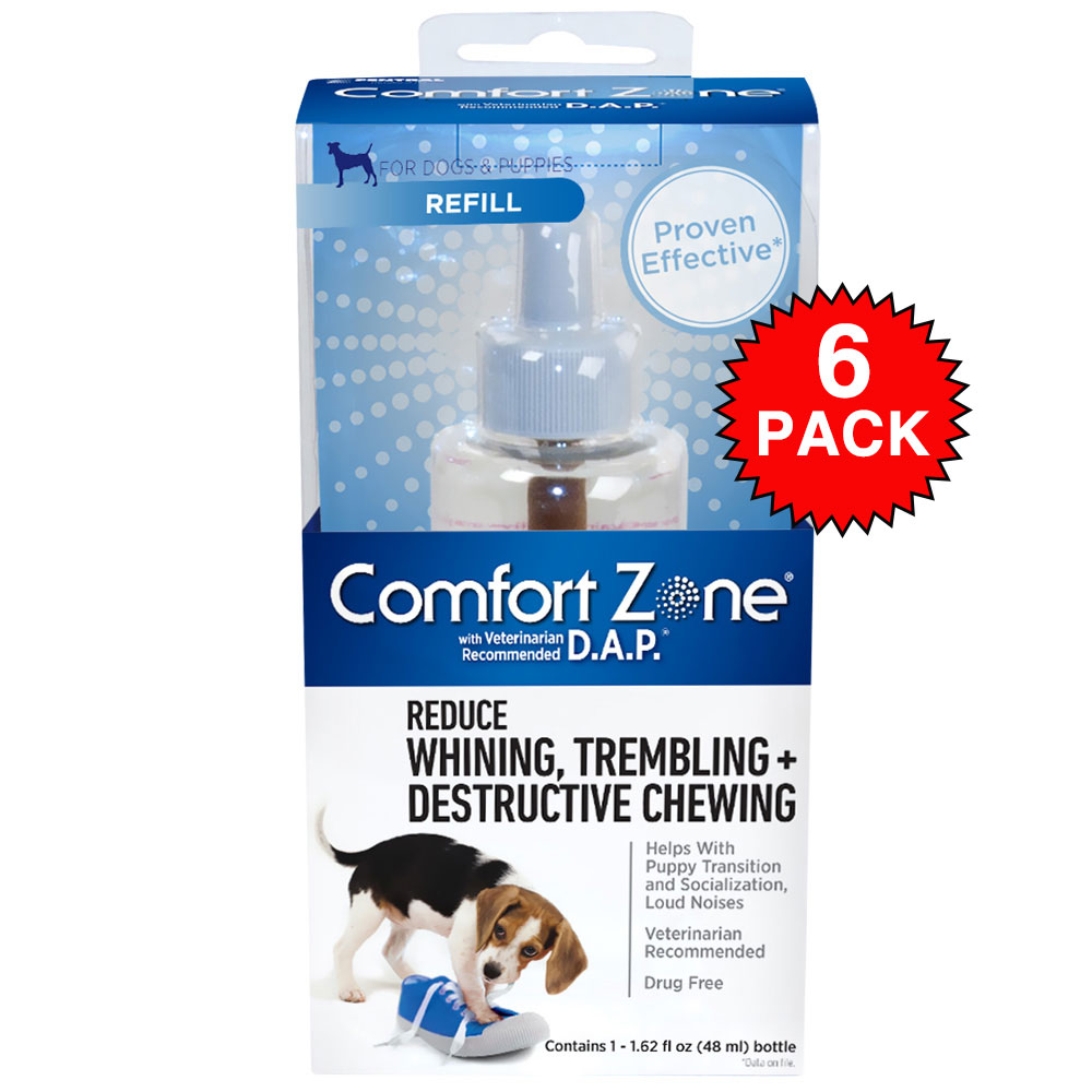 6-PACK Comfort Zone Refill  with D.A.P. (288 mL)