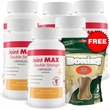 6-PACK Joint MAX Double Strength Capsules (720 Count) + FREE BONIES (5 Count)