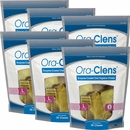6-PACK Ora-Clens Oral Hygiene Chews Large (180 Chews)