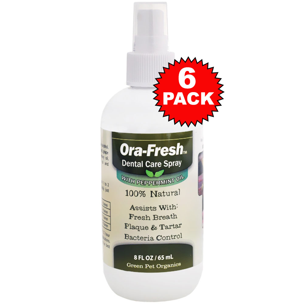6 Pack Ora-Fresh Dental Care Spray (8 oz)