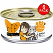 6-PACK Weruva Best Feline Friend Canned Cat Food, Tuna and Salmon Soulmates Recipe (33 oz)