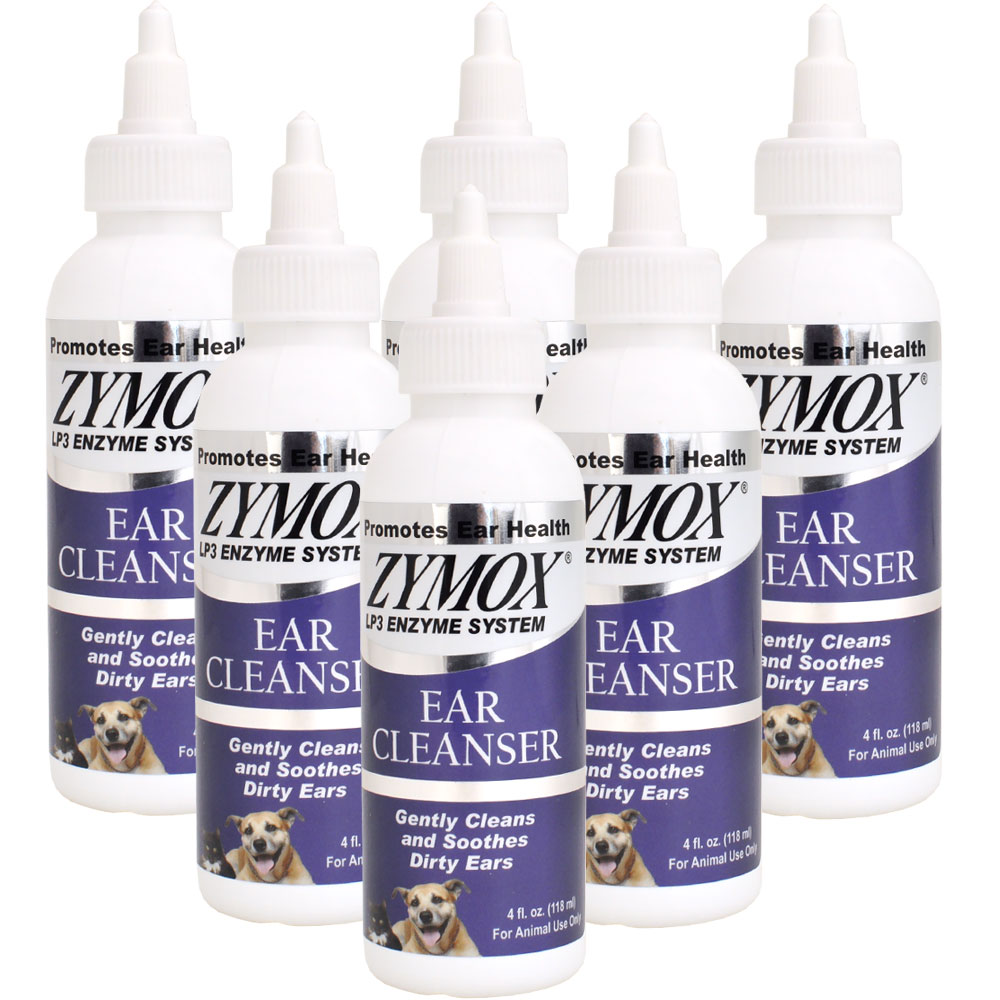 6-PACK Zymox Ear Cleanser (24 oz)