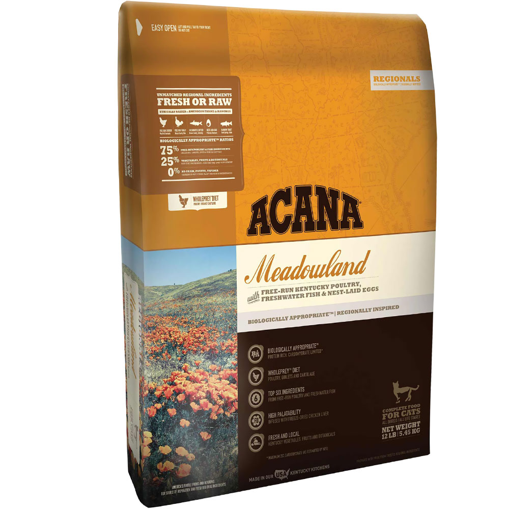 Acana Regionals Meadowland Cat (5 lb)