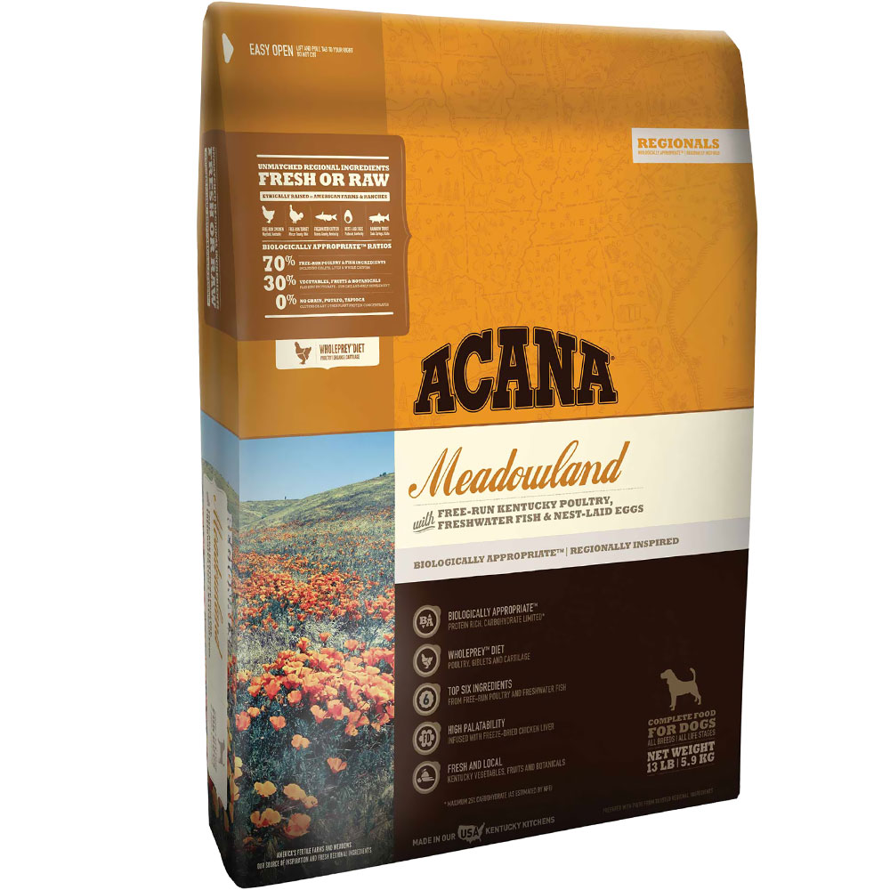 Acana Regionals Meadowland for Cats (25 lb)