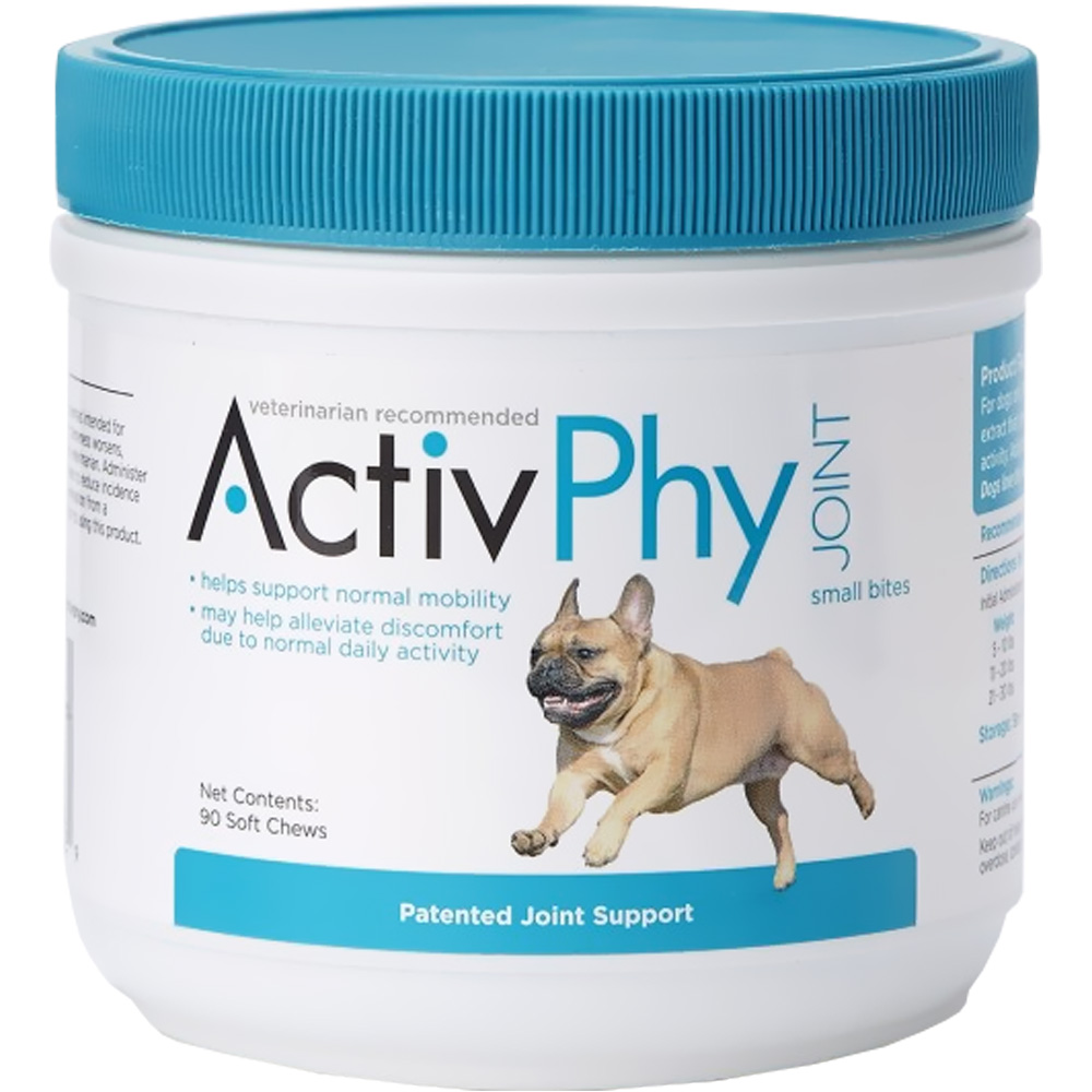 ActivPhy Joint Small Bites Soft Chews for Dogs (90 count)