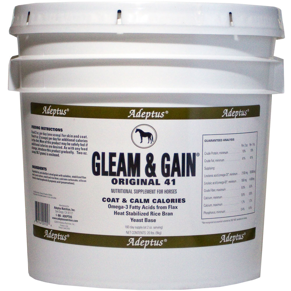 Adeptus Gleam & Gain Original 41 for Horses (20 lbs)