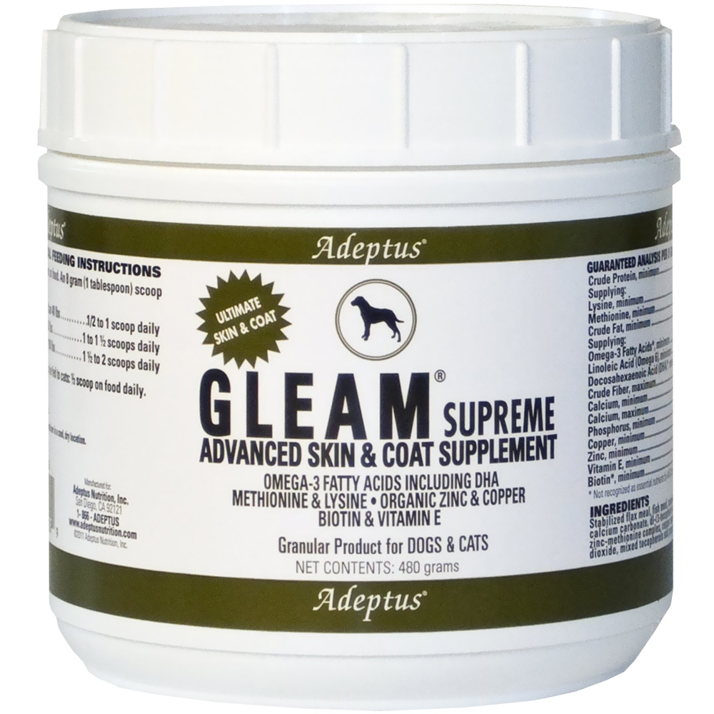 Adeptus Gleam Supreme for Pets (480 gram)