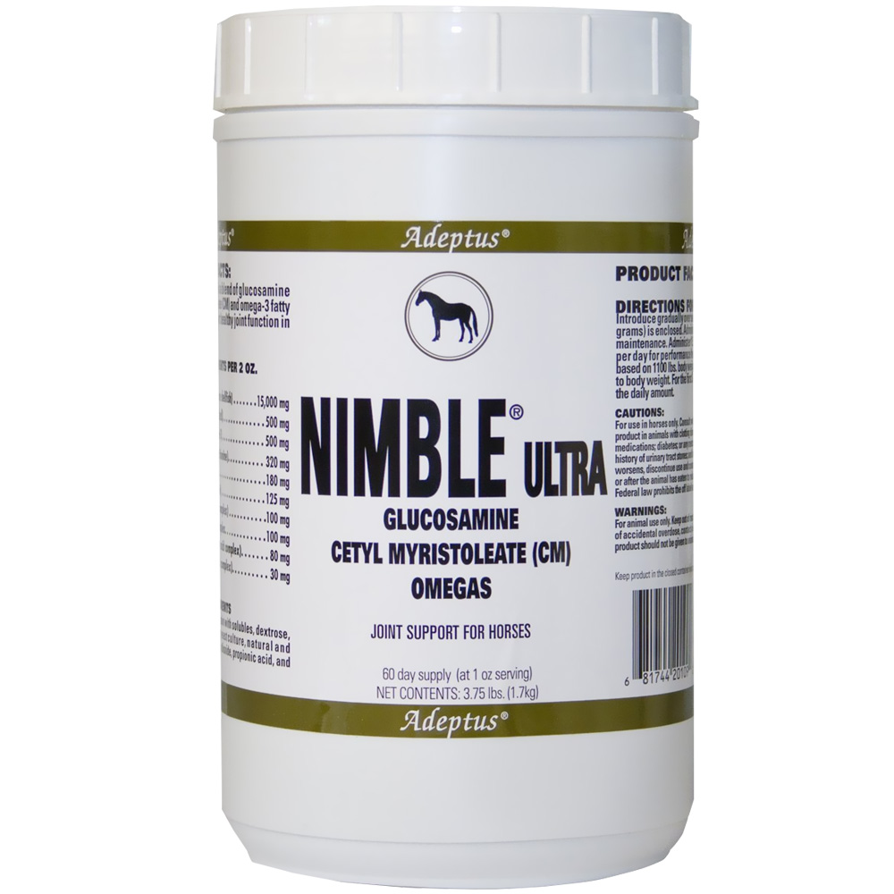 Adeptus Nimble Ultra Joint Support for Horses (3.75 lbs)