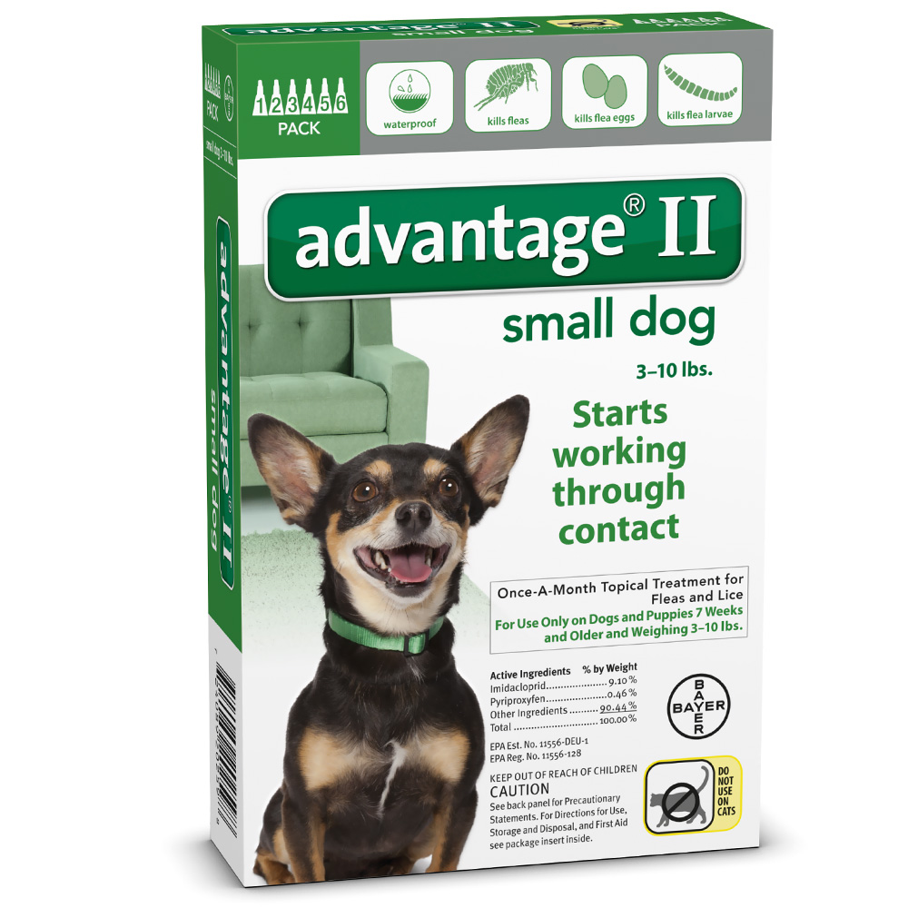Advantage II Flea Control for Dogs & Cats