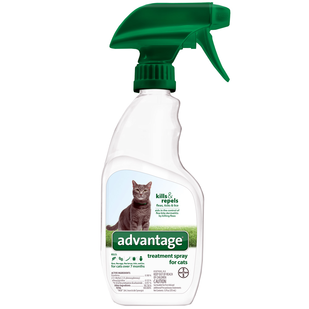 Advantage Treatment Spray for Cats (12 oz)