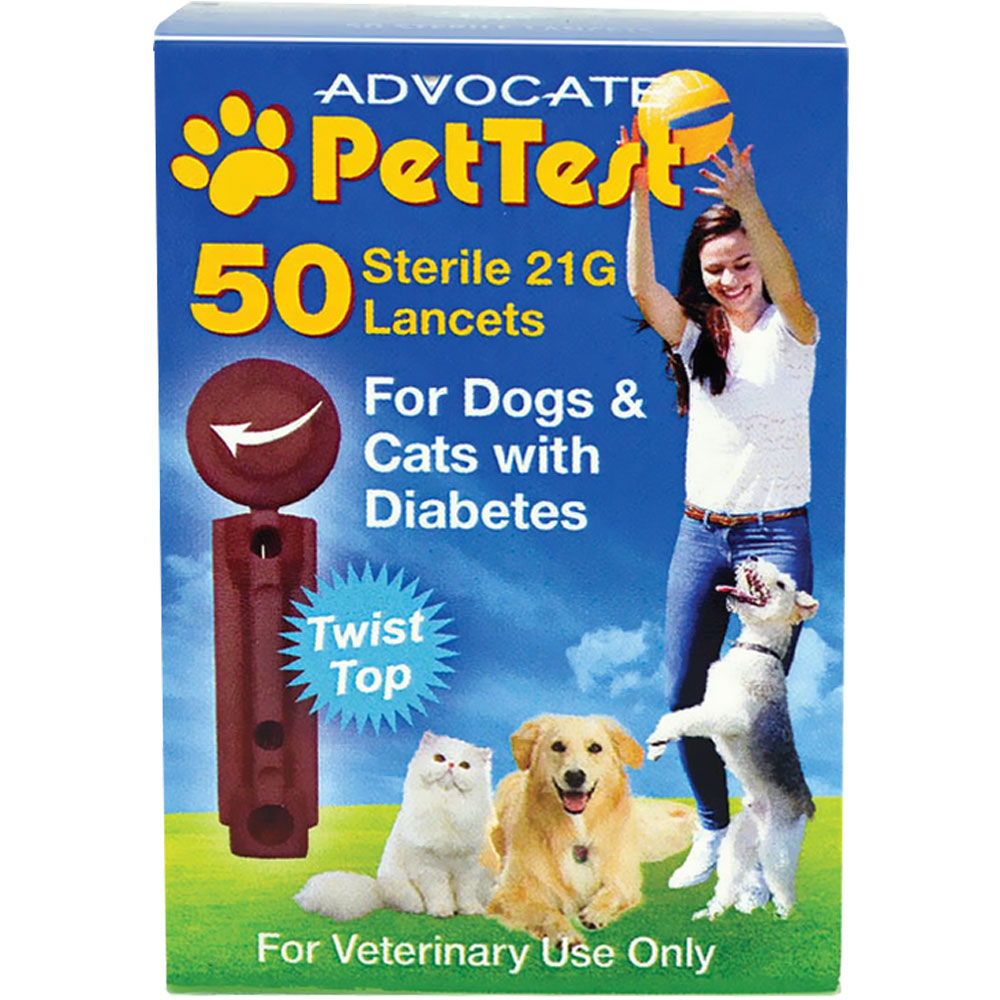 Advocate® PetTest Blood Glucose Monitoring System