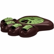 "Aikiou Activity Food Center for Dogs - Brown/Green (14"" x 12"" x 3"")"