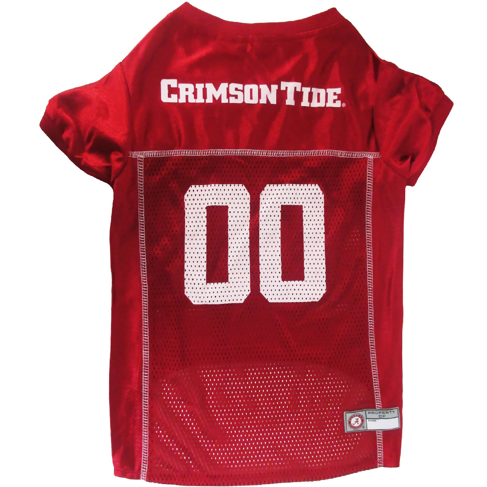 Alabama Crimson Tide Dog Jerseys