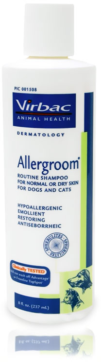 Allergroom Shampoo by Virbac (8 oz)