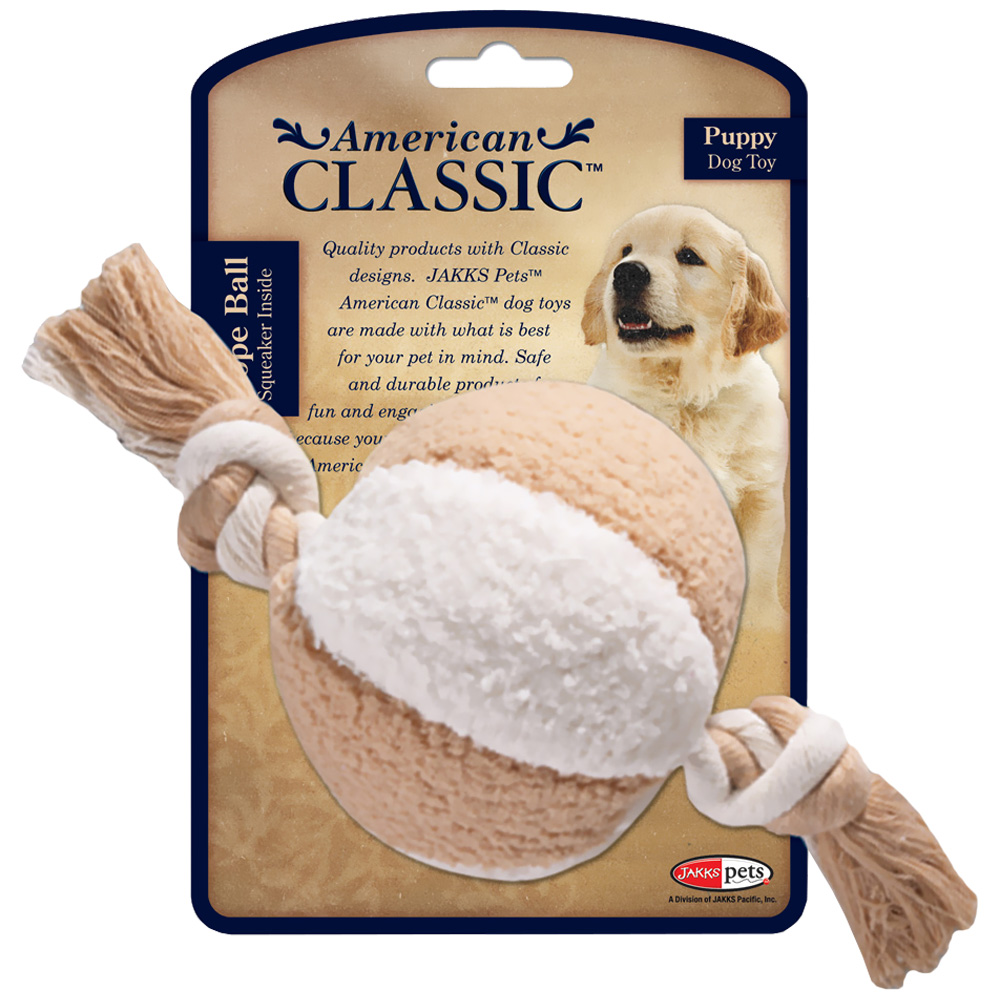 American Classic Puppy - Rope Ball