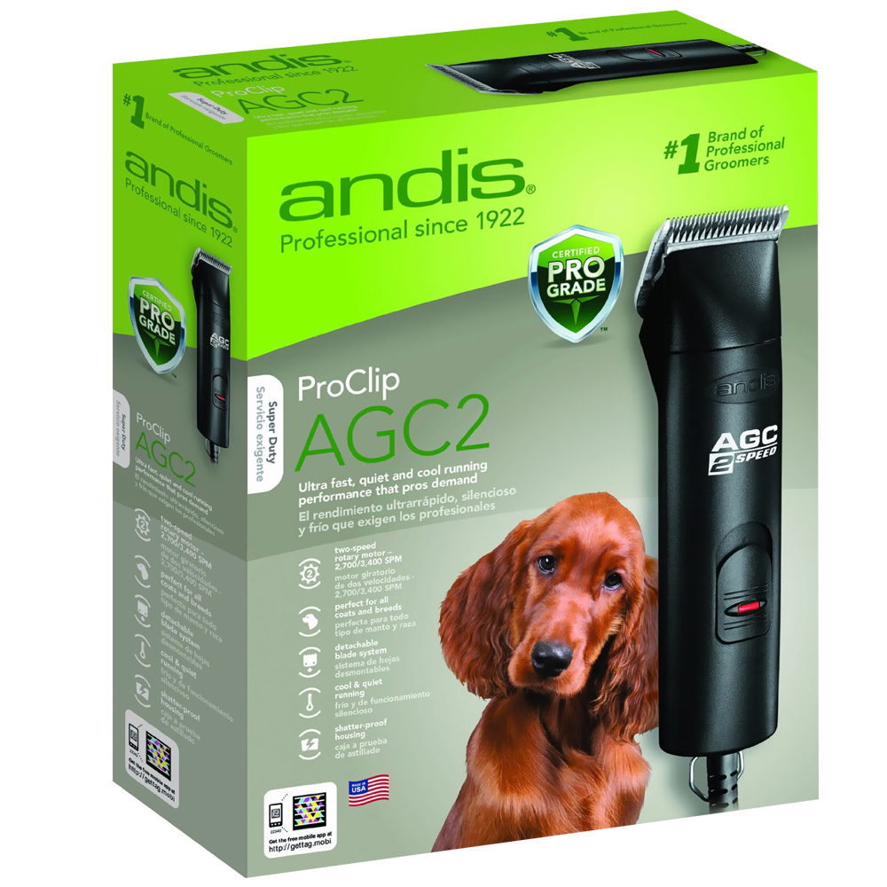 Andis AGC 2- Speed Clipper with #10 Blade