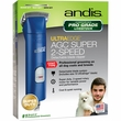 Andis UltraEdge AGC Super 2-Speed Pet Clipper - Blue