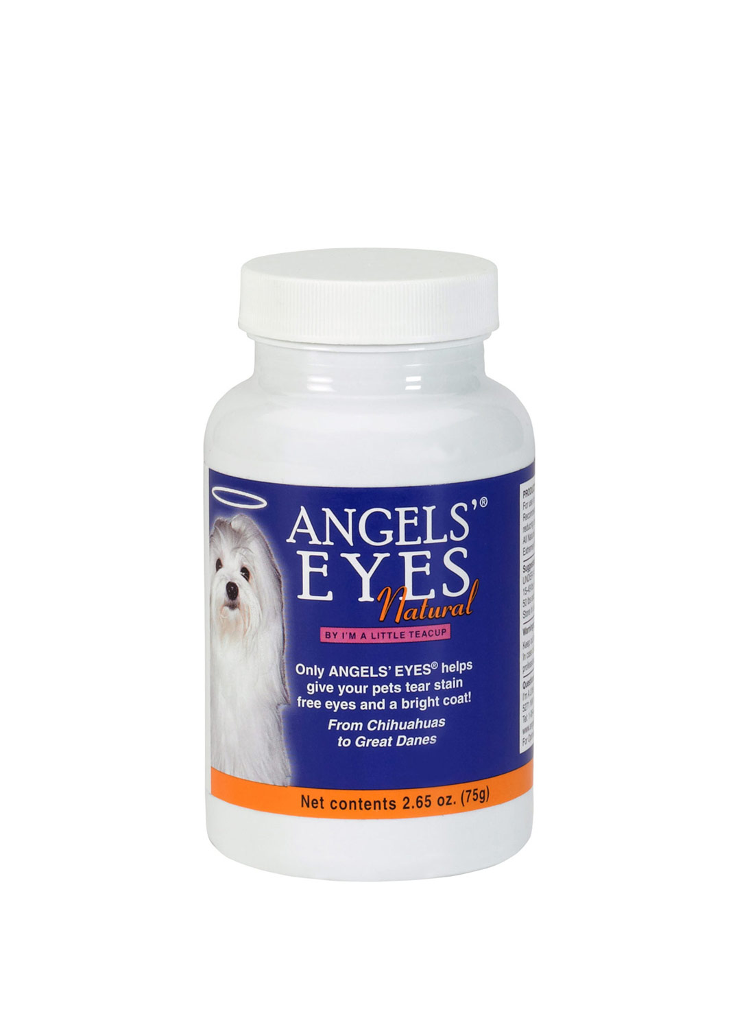 Angels' Eyes NATURAL Chicken for Dogs (75 gm)