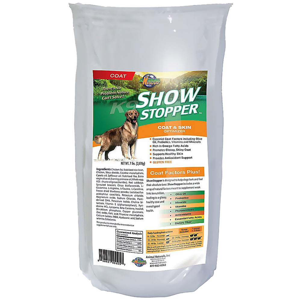 Animal naturals k9 show stopper 7 lbs for Show stopper equipment