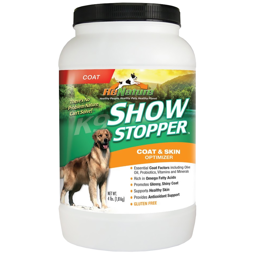 Animal naturals k9 show stopper 4 lbs for Show stopper equipment