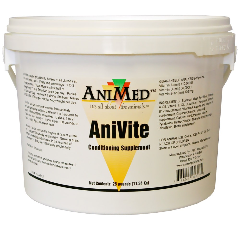 Animed Horse Conditioning Supplements