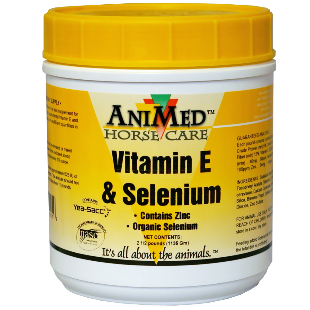 AniMed Vitamin E & Selenium with Zinc (2.5 lb)