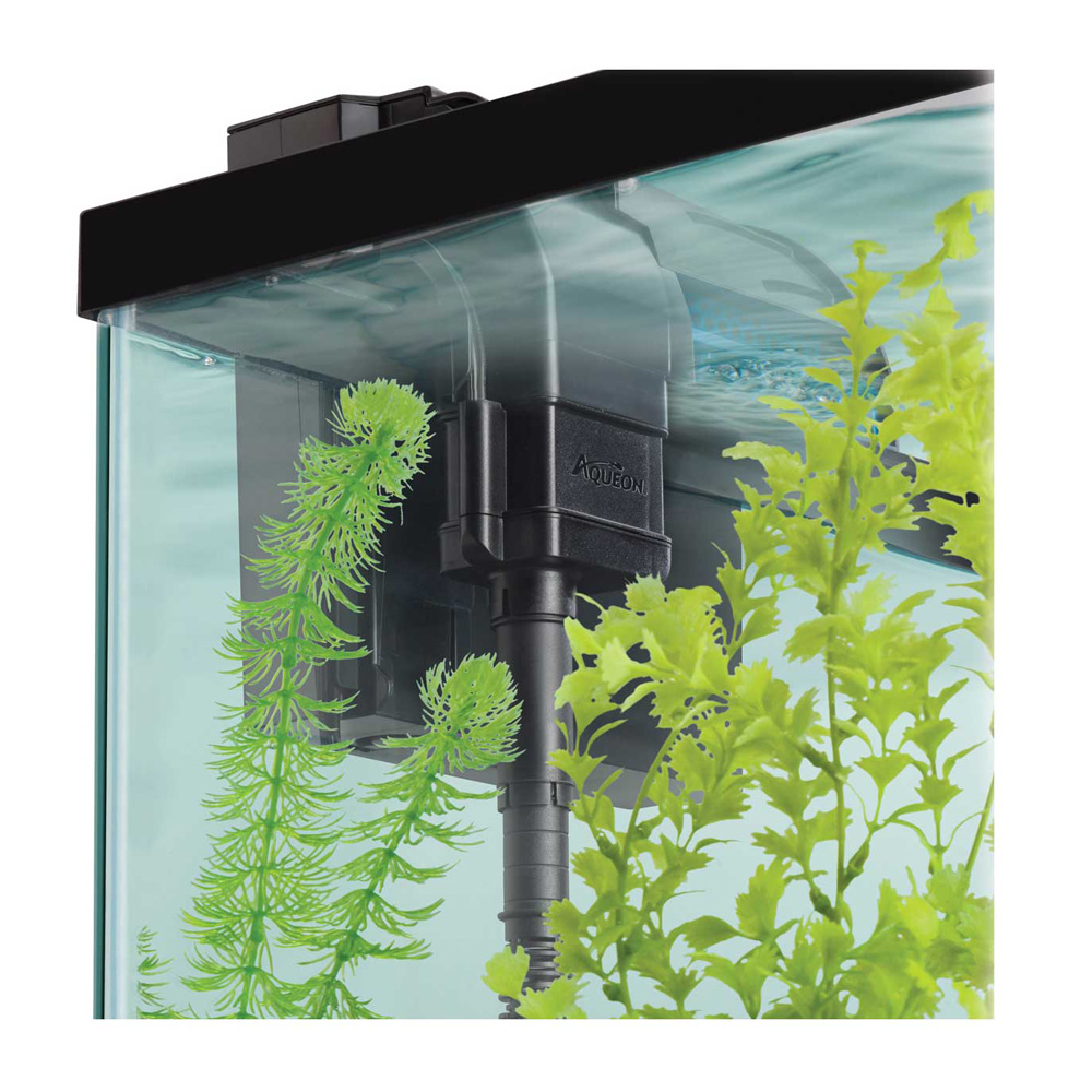 Aqueon quietflow led pro 75 aquarium power filter for Quiet fish tank filter