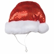 Aria Sequin Santa Hat - Small