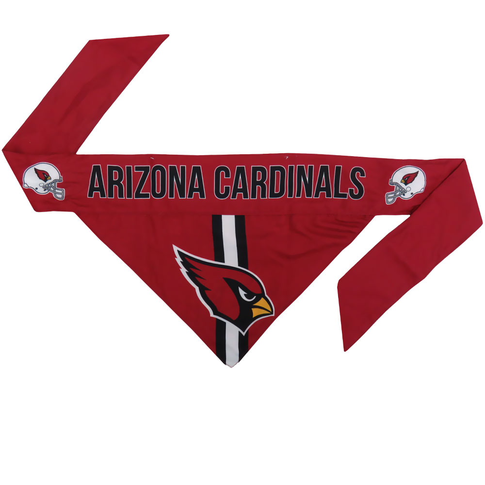 Arizona Cardinals Dog Bandana - Tie On (Small)