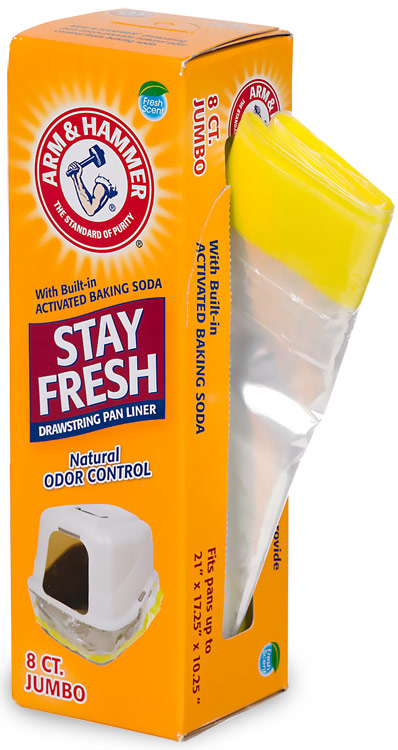 Arm & Hammer Drawstring Liners Jumbo (8 pack)
