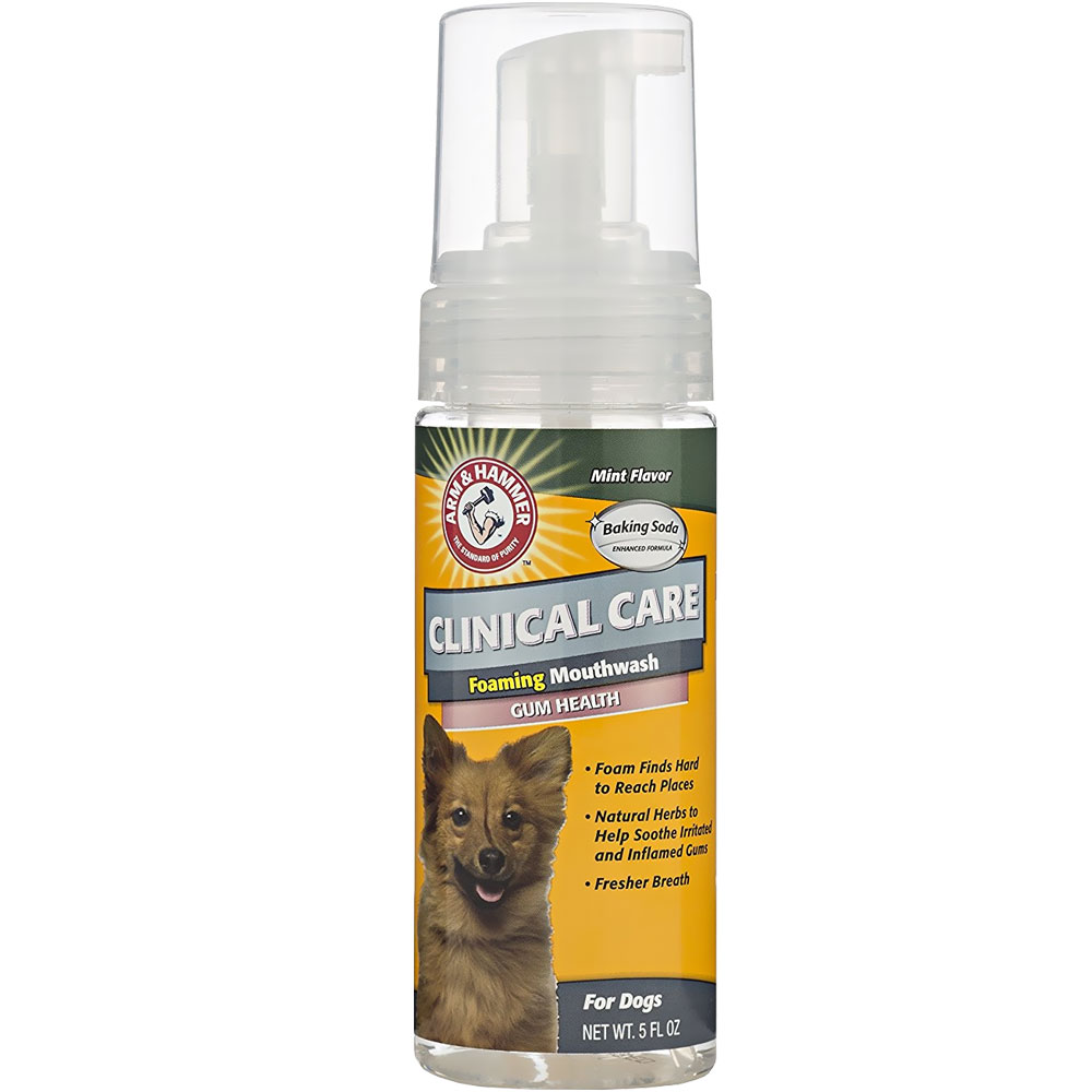 Arm & Hammer Foaming Mouthwash for Dogs - Mint Flavor (4.5 fl oz)