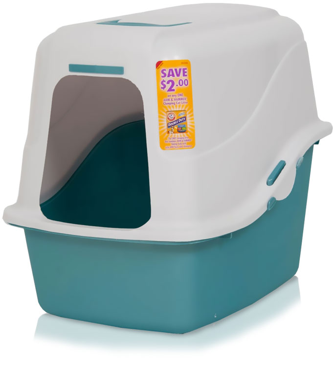Arm & Hammer Hooded Pan Set - Pearl White/Pearl Blue