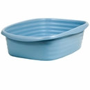 Arm & Hammer Litter Pan Wave Pearl Ash Blue - Large