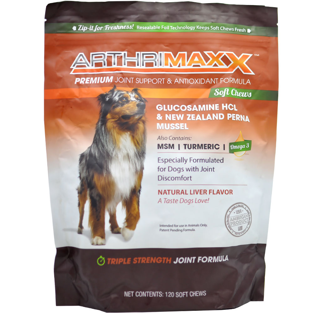 ArthriMAXX Premium Joint Supplement (120 Chews)