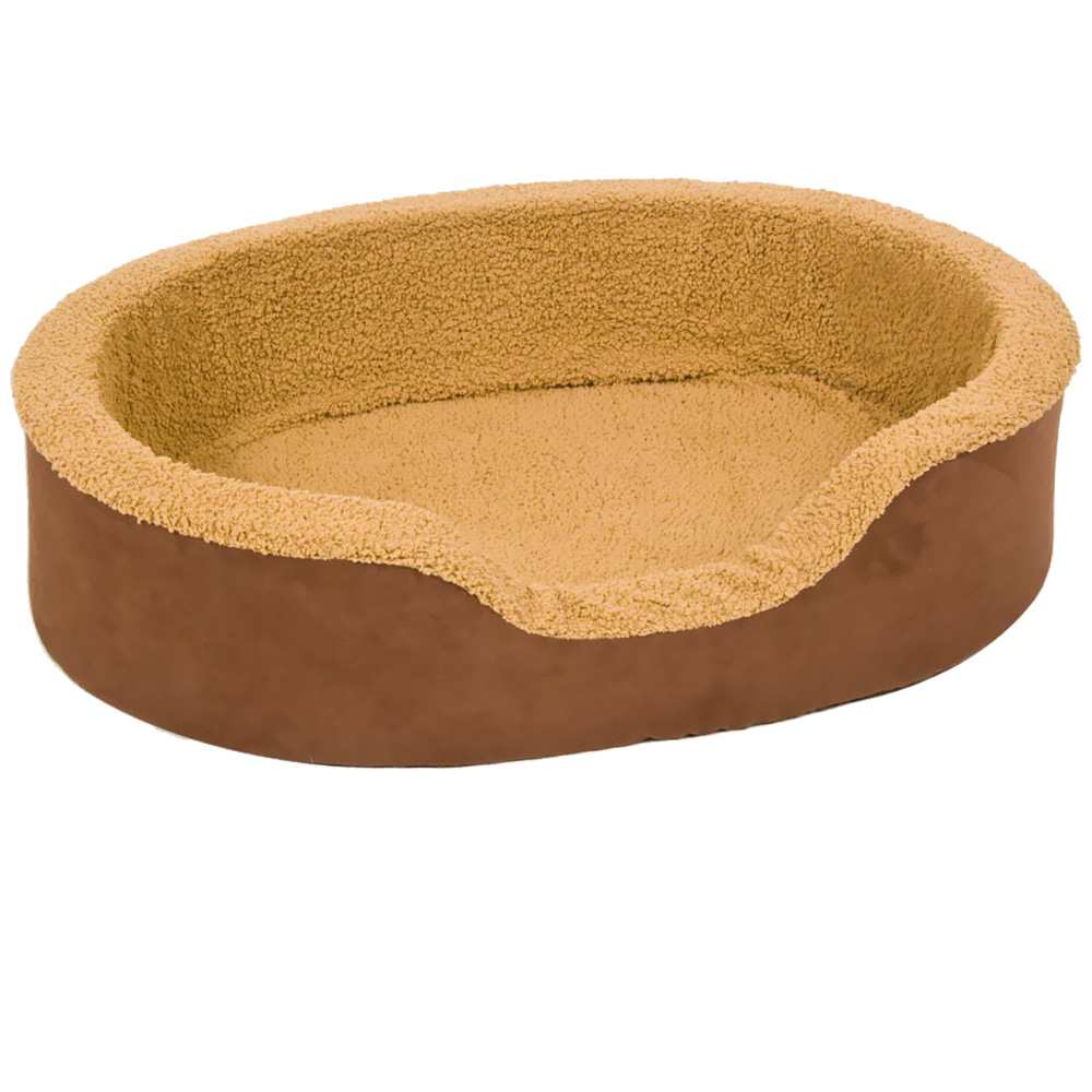 "Aspen Pet Lounger Plush/Suede (28"" x 21"" x 7.5"") - Assorted Colors"