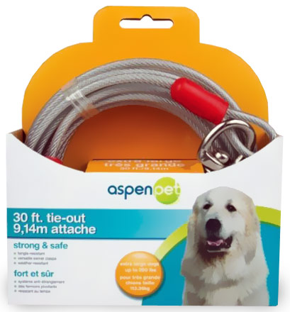 Aspen Pet Tie Outs & Stakes