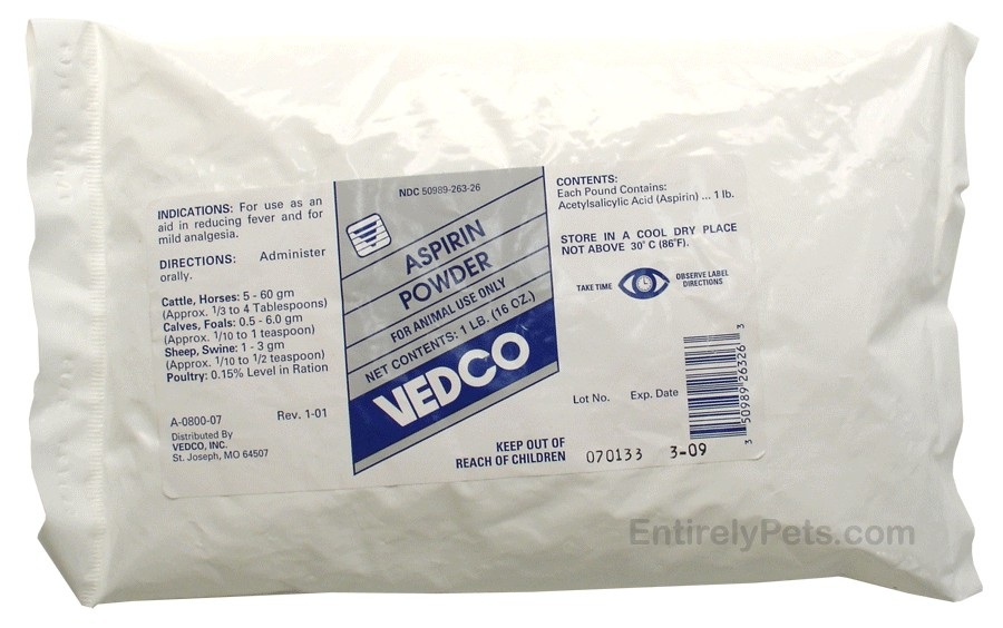 Aspirin Powder by VEDCO