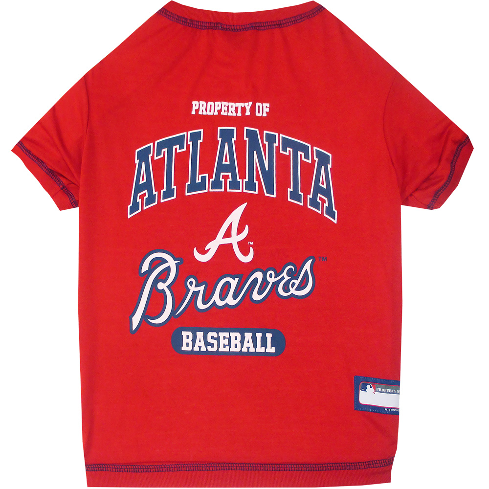 Atlanta Braves Dog Tee Shirts