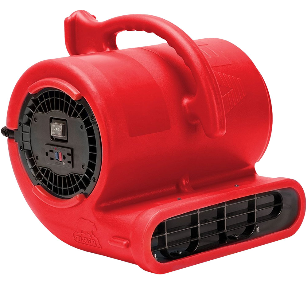 B-Air Vent 2 Speeds Multi Cage Dryer - Red