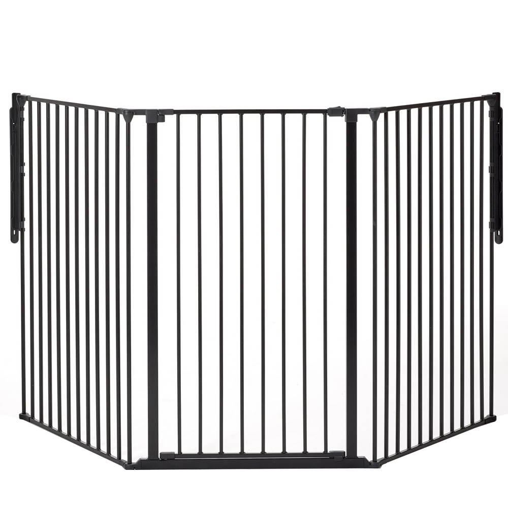 BabyDan Flex Gate Tall - Black 88""